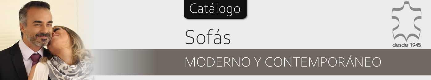 Sofás de Piel Contemporáneos - SofaHogar