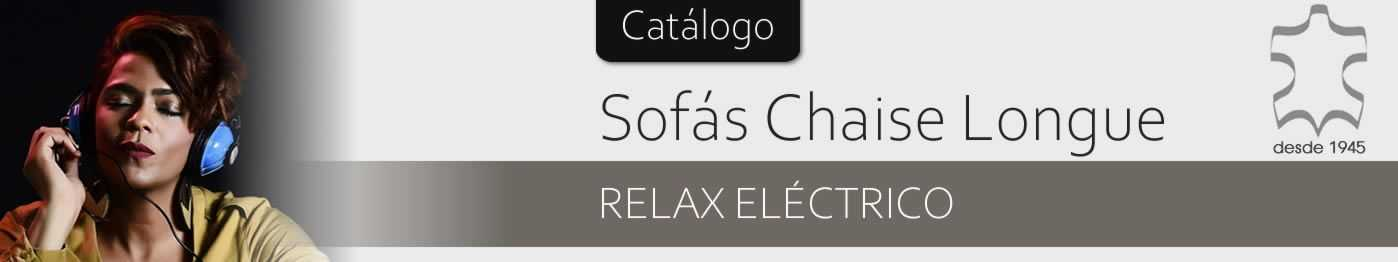 Chaise longue con relax eléctrico - SofaHogar